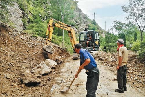 七岩山景区恢复开放