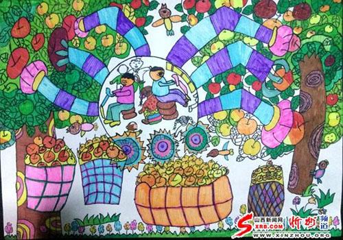 河曲小学生李佳怡美术作品在全国获奖-忻州在线