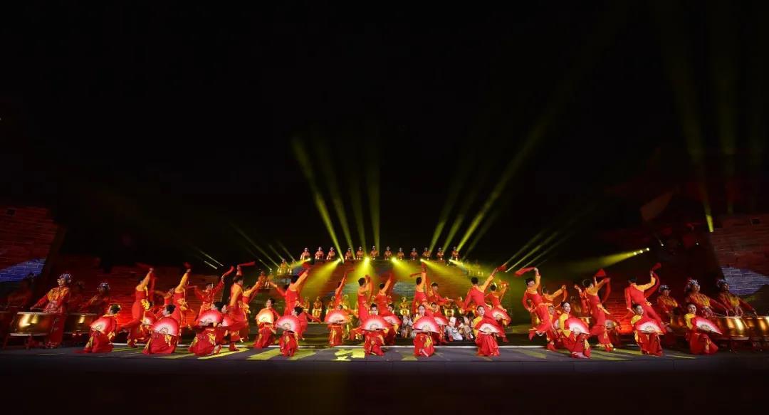 大型情景音乐舞蹈史诗《长城长》在雁门关震撼上演