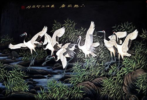 代县华亭环艺雕塑公司文化产业越做越大