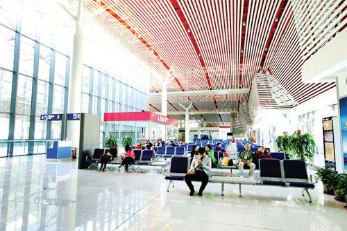 五台山机场共安全保障飞机