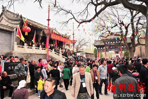 代县举行纪念杨业诞辰1089周年祭拜活动