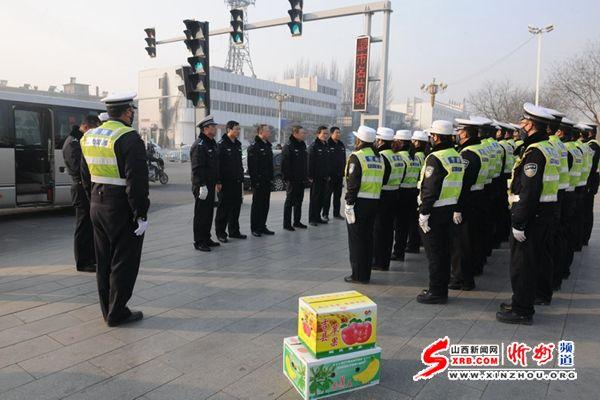 忻州市公安局局长杨梅喜元旦看望慰问一线民警 -忻州信息网图片 47565 600x400